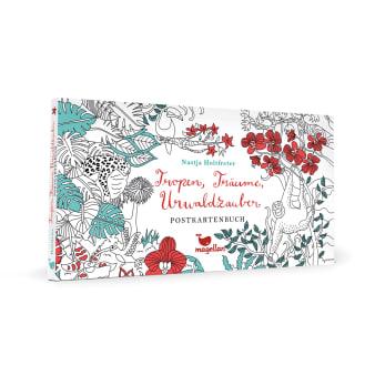 Tropen, Träume, Urwaldzauber - Postkartenbuch