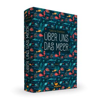 Cover Über uns das Meer Jugendbuch von Sabine Giebken