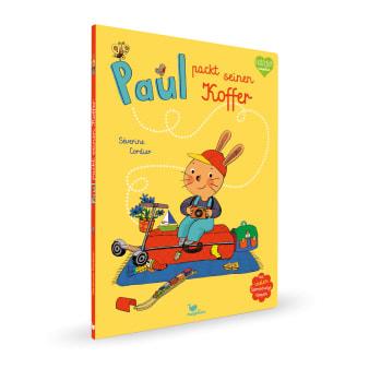 Cover Paul packt seinen Koffer Pappbilderbuch von Séverine Cordier