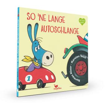 Cover So 'ne lange Autoschlange Pappbilderbuch von Norman Klaar und Karsten Teich