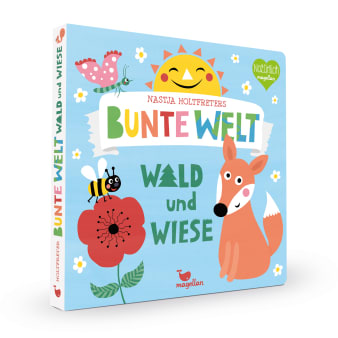 Cover Nastja Holtfreters bunte Welt Wald und Wiese Suchen Pappbilderbuch von Nastja Holtfreter