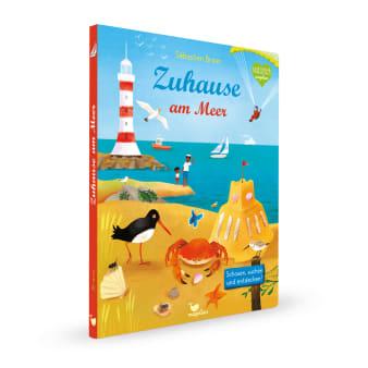 Cover Zuhause am Meer Wimmelbuch Pappbilderbuch von Sébastien Braun