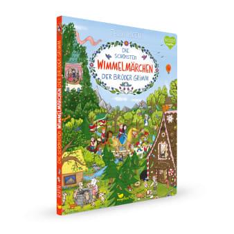 Cover Die schönsten Wimmelmärchen der Brüder Grimm Wimmelbuch Pappbilderbuch von Tessa Rath