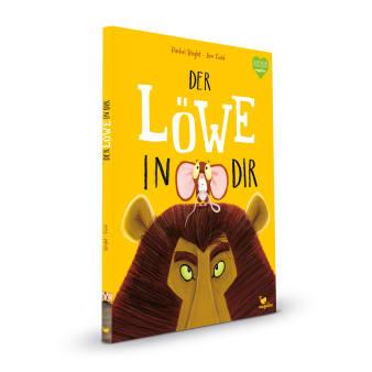 Cover Der Löwe in dir Bestseller Bilderbuch von Jim Field und Rachel Bright