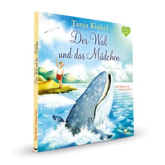 Cover Der Wal und das Mädchen Naturbilderbuch von Tanja Kinkel und Giuliano Ferri