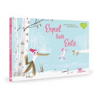 Cover Erpel liebt Ente Bilderbuch von René Gouicoux und Marc Boutavant