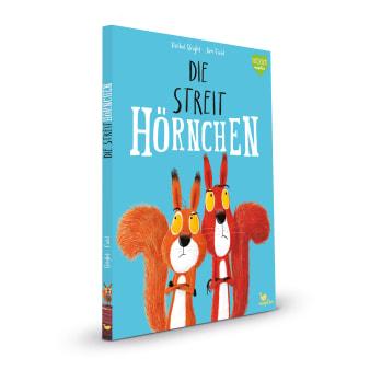 Cover Die Streithörnchen Bestseller Bilderbuch von Rachel Bright und Jim Field
