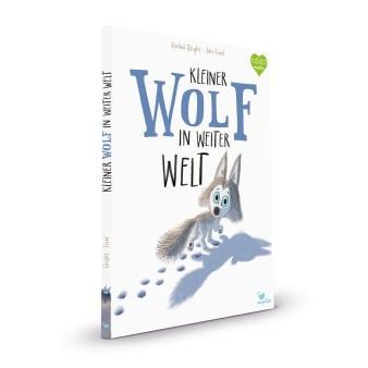 Cover Kleiner Wolf in weiter Welt Bilderbuch von Rachel Bright und Jim Field