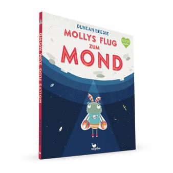 Cover Mollys Flug zum Mond Bilderbuch von Duncan Beedie