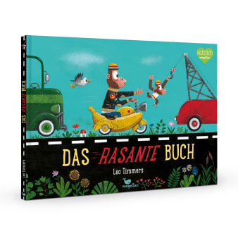 Cover Das rasante Buch Auszeichnung Bilderbuch von Leo Timmers
