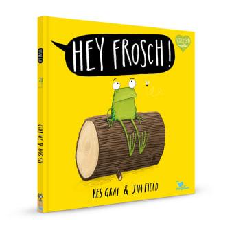 Cover Hey Frosch Bestseller Bilderbuch von Kes Gray und Jim Field