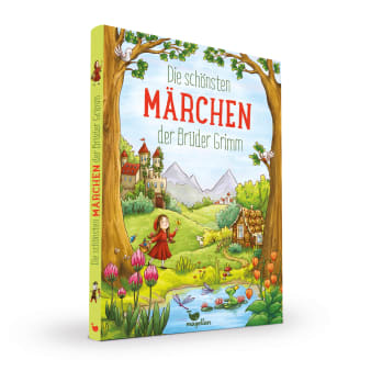 Cover Die schönsten Märchen der Brüder Grimm Vorlesebuch von Rusalka Reh und Larisa Lauber
