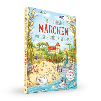 Cover Die beliebtesten Märchen von Hans Christian Andersen mit CD Vorlesebuch von Rusalka Reh und Larisa Lauber