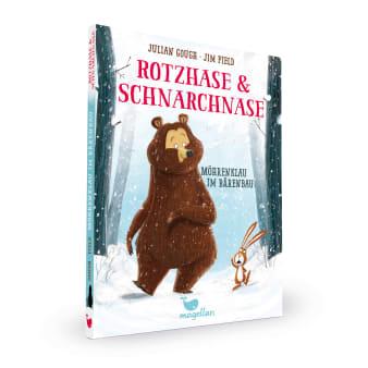 Cover Rotzhase und Schnarchnase Band1 Möhrenklau Erstes Lesen von Julian Gough und Jim Field