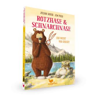 Cover Rotzhase und Schnarchnase Band3 Wicht vor Gericht Erstes Lesen von Julian Gough und Jim Field