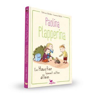Cover Paolina Plapperina Band2 Haustier Vorlesebuch von Patricia Schröder und Susanne Göhlich