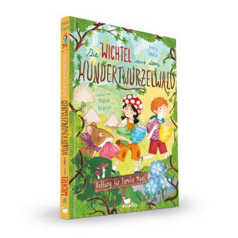 Cover Hundertwurzelwald Band2 Rettung für Familie Maus Vorlesebuch von Anna Taube und Marie Braner