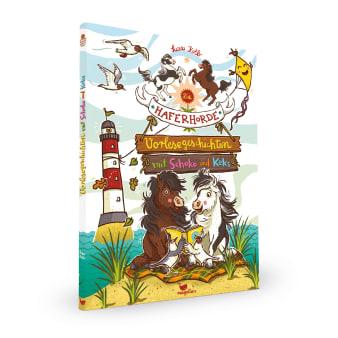 Cover Haferhorde Vorlesegeschichten mit Schoko und Keks Pferdebuch von Suza Kolb