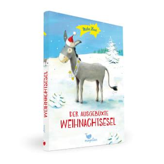 Cover Der ausgebüxte Weihnachtsesel Kinderbuch von Meike Haas und Marina Rachner