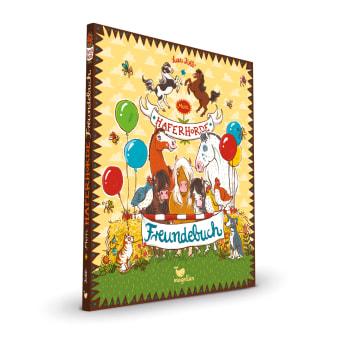 Cover Haferhorde Freundebuch Beschäftigung Pferdebuch von Suza Kolb