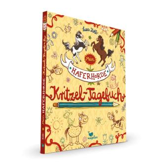 Cover Haferhorde Kritzel-Tagebuch Beschäftigung Pferdebuch von Suza Kolb