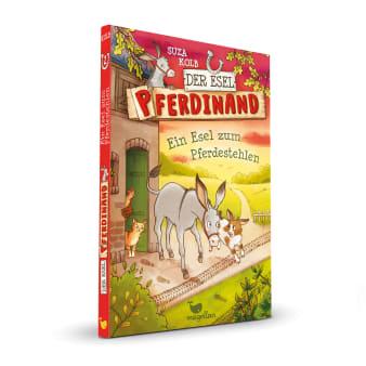 Cover Esel Pferdinand Band2 Ein Esel zum Pferdestehlen Kinderbuch von Suza Kolb