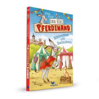 Cover Esel Pferdinand Band4 Ritterpferd mit Eselsohren Kinderbuch von Suza Kolb