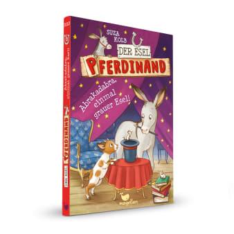 Cover Esel Pferdinand Band6 Abrakadabra, einmal grauer Esel Kinderbuch von Suza Kolb