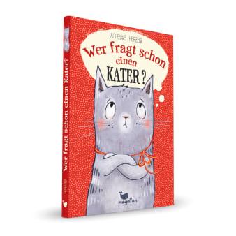 Cover Wer fragt schon einen Kater Kinderbuch von Annette Herzog