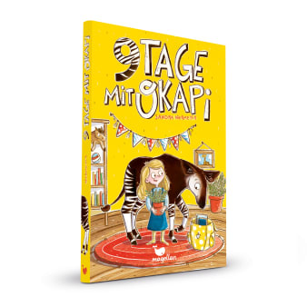 Cover Neun Tage mit Okapi Kinderbuch von Sandra Niermeyer