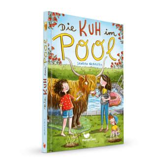 Cover Die Kuh im Pool Kinderbuch von Sandra Niermeyer
