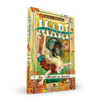 Cover Mari Mädchen aus dem Meer Band2 Das Amulett des Poseidon Kinderbuch von Christiane Rittershausen