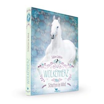 Cover Wolkenherz Band3 Schatten im Wind Pferdebuch von Sabine Giebken