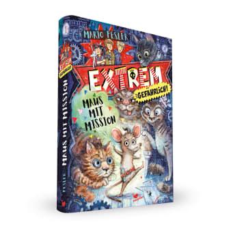 Cover Extrem gefährlich Band1 Maus mit Mission Krimi Middle Grade von Mario Fesler
