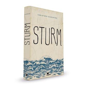 Cover Sturm Jugendbuch von Christoph Scheuring