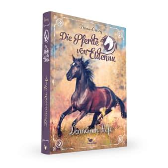 Cover Die Pferde von Eldenau Band3 Donnernde Hufe Pferdebuch von Theresa Czerny