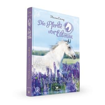Cover Die Pferde von Eldenau Band4 Wiehern im Wald Pferdebuch von Theresa Czerny
