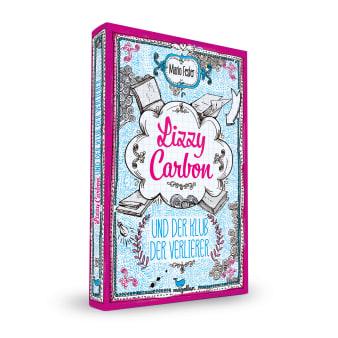 Cover Lizzy Carbon Band1 Und der Klub der Verlierer Jugendbuch von Mario Fesler
