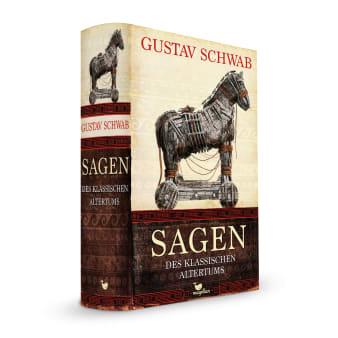 Cover Sagen des klassischen Altertums Klassiker Jugendbuch von Gustav Schwab