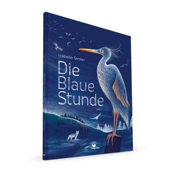 Cover Die blaue Stunde Sachbilderbuch von Isabelle Simler