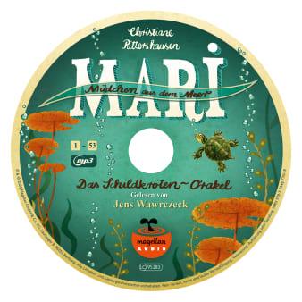 Innenansicht2 CD mit Illustration von Schildkröte unter Wasser darauf