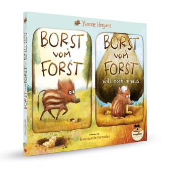 Cover Borst vom Horst Audio-CD Hörbuch von Yvonne Hergane gesprochen von Konstantin Graudus