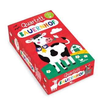 Cover Quartett Bauernhof Kartenspiel von Nastja Holtfreter