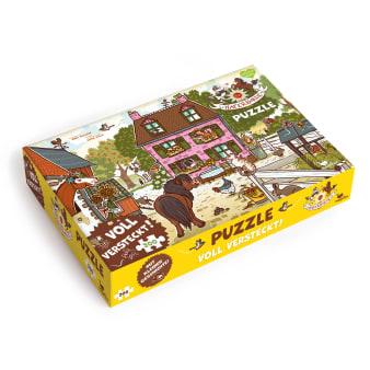 Cover Haferhorde Voll versteckt Puzzle Spiel für Kinder von Suza Kolb und Nina Dulleck