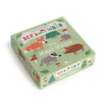 Cover Der bunte Wald Mein Maxi-Memo Memo-Spiel von Nastja Holtfreter