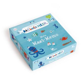 Cover Das bunte Meer Mein Maxi-Memo Memo-Spiel von Nastja Holtfreter