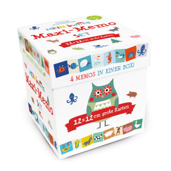 Cover Mein buntes Maxi-Memo-Set Memo-Spiel von Nastja Holtfreter