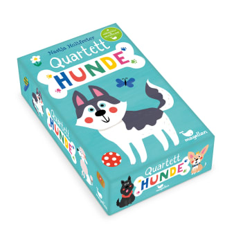 Cover Quartett Hunde Kartenspiel von Nastja Holtfreter