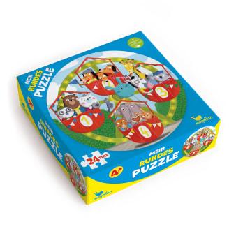 Cover Mein rundes Puzzle auf dem Riesenrad Puzzle Spiel für Kinder von Anne-Kathrin Behl