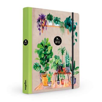Cover Notizbuch Nummer 53 Green Home Schönes und Kreatives zum Eintragen